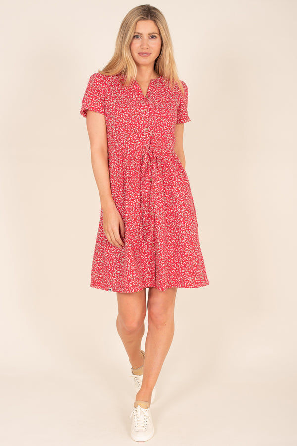 Forget Me Not Shirt Dress