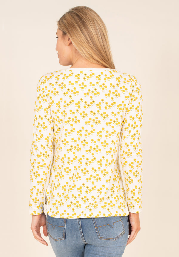 Garden Flowers Long Sleeve T-Shirt