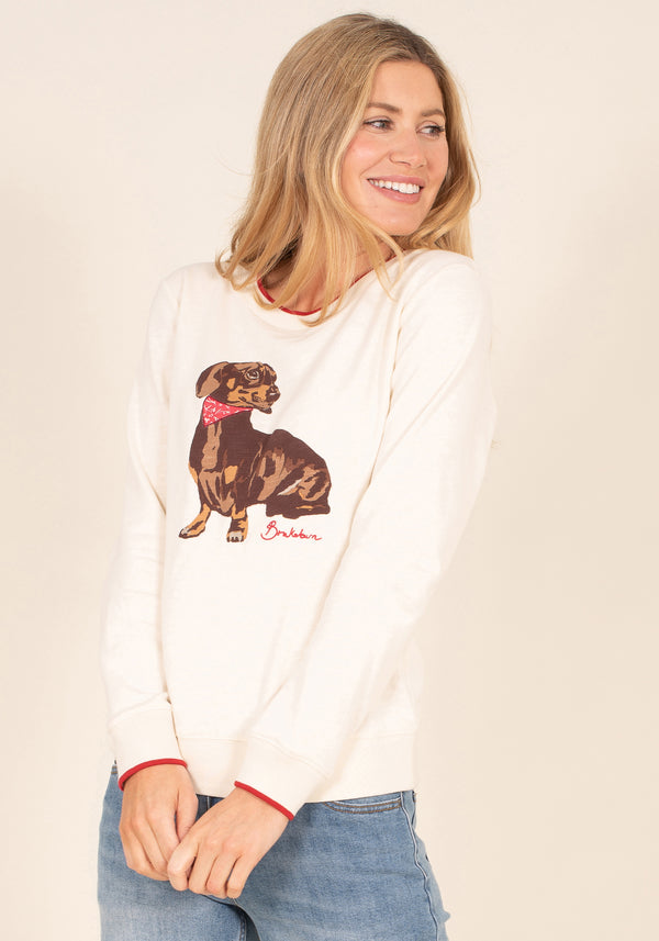 Sausage Dog Crew Neck Sweat