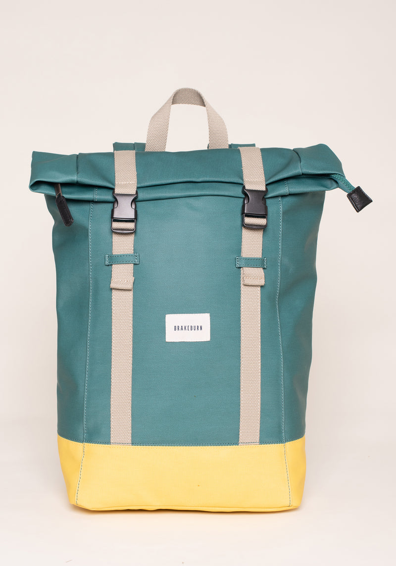 Green And Yellow Rucksack