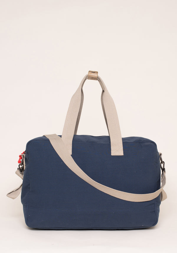 Navy Overnight Bag