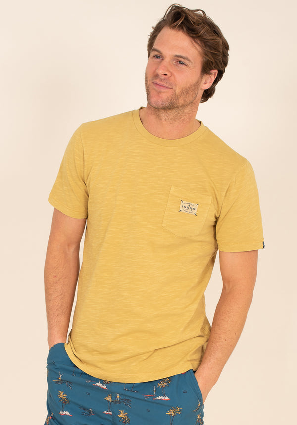 Oil Yellow T-Shirt