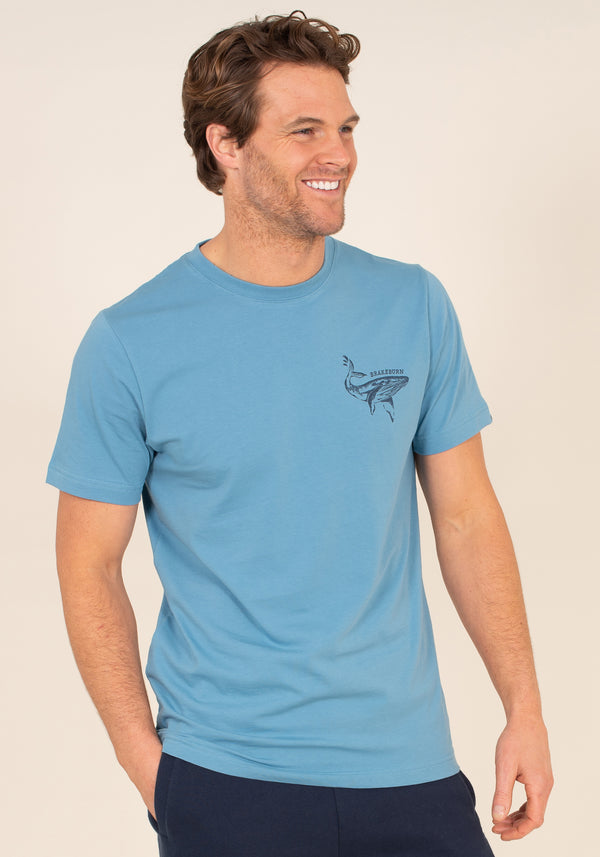 Organic Cotton Whale Graphic T-Shirt