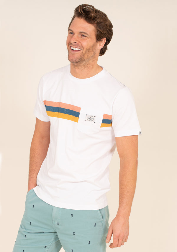Placement Stripe T-Shirt