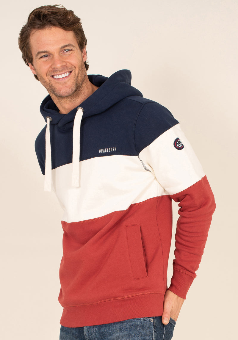 Crossover Neck Hoody