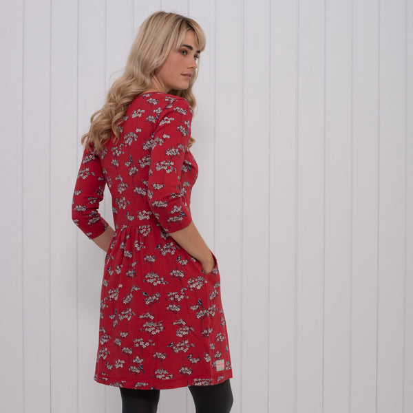 Blossom Drop Waist Dress