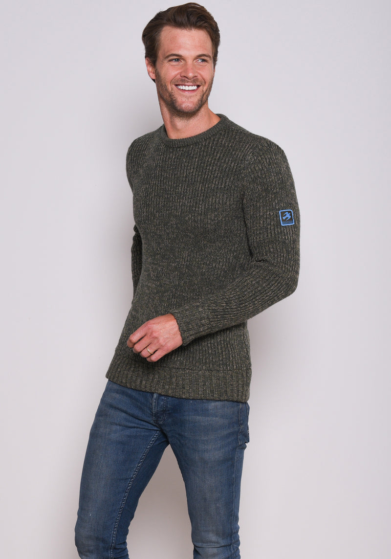 Multi Yarn Crew Jumper