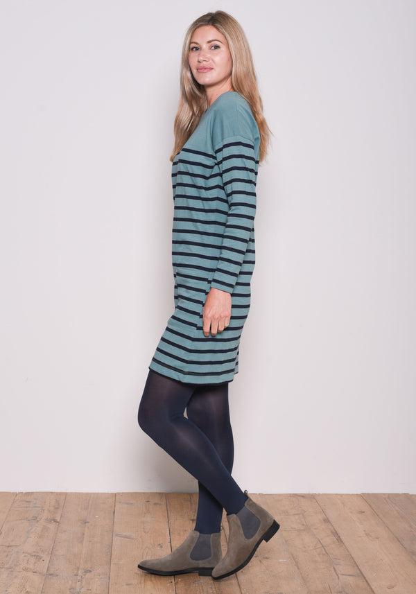 Block Stripe Dress