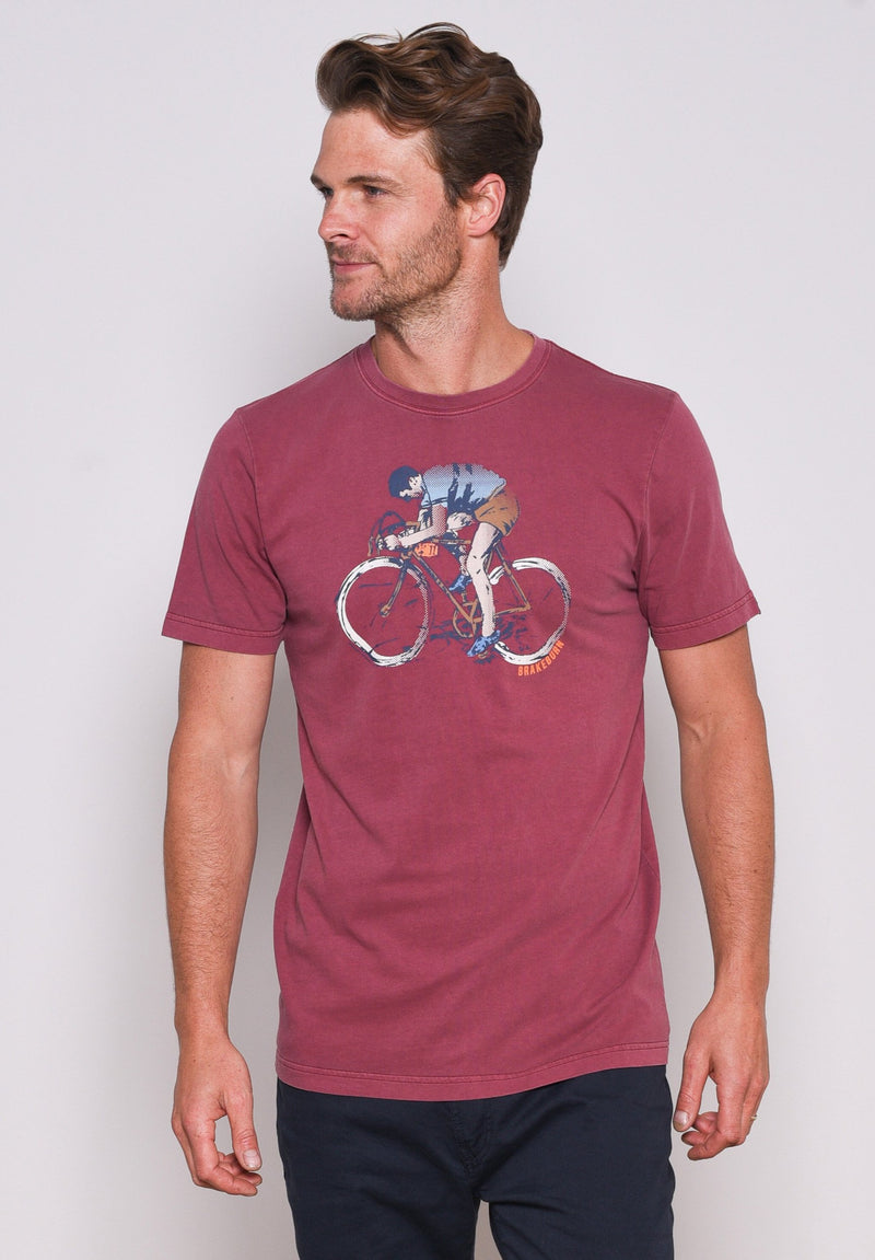 Cyclist Garment Dyed Tee