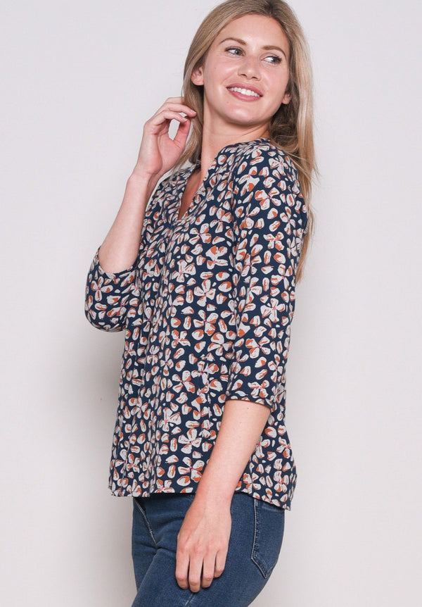 Petals Pocket Blouse
