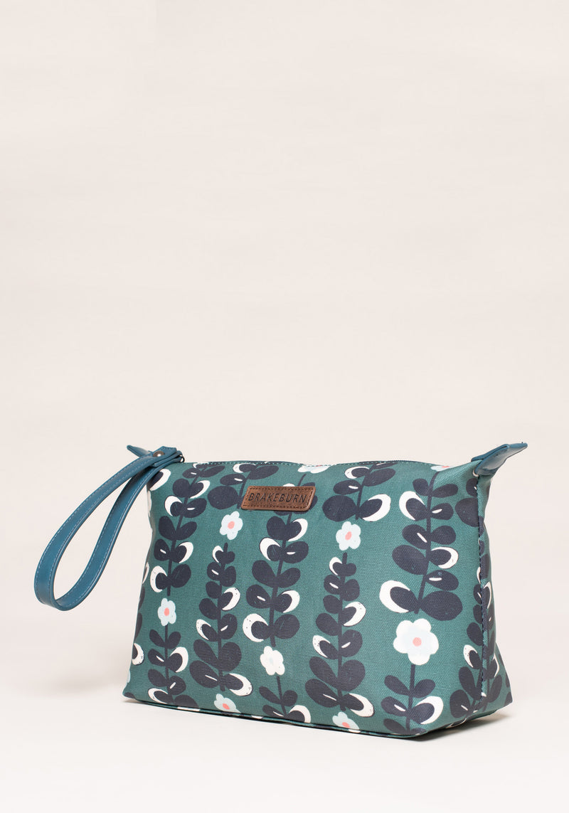 Trailing Flower Large Wash Bag