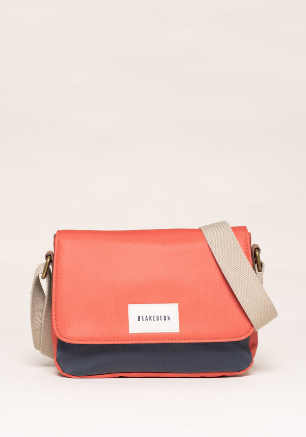 Colour Block Roo Pouch Crossbody Bag