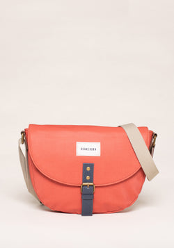 Colour Block Saddle Bag