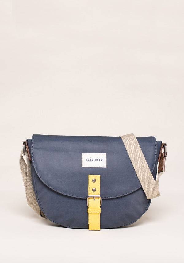 Navy Saddle Bag
