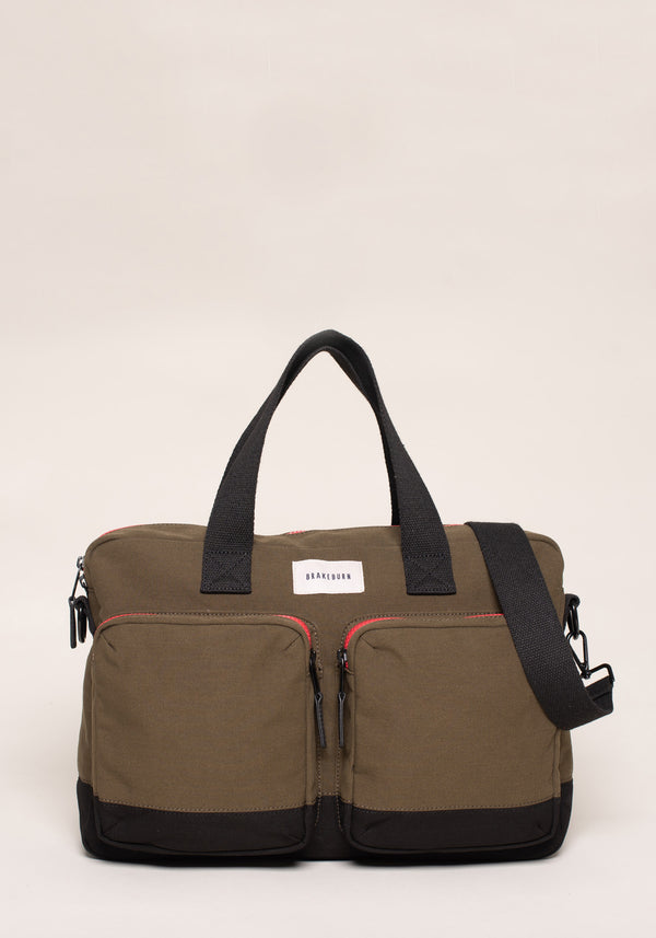 Pocket Messenger Bag Green