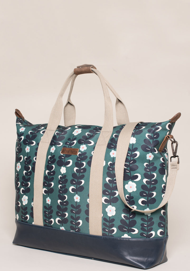 Trailing Flower Overnight Bag