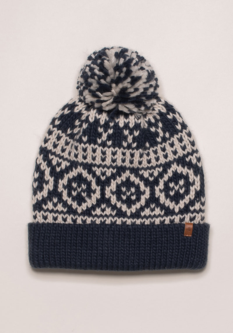 Chunky Fairisle Knit Hat