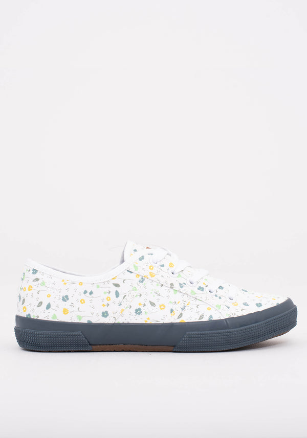 Ditsy Lace Up Trainers
