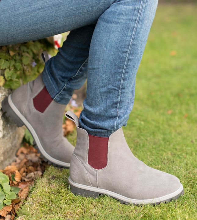 Suede Chelsea Boot