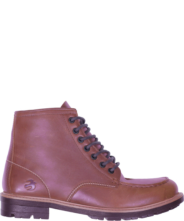 Lace Up Boot Brown