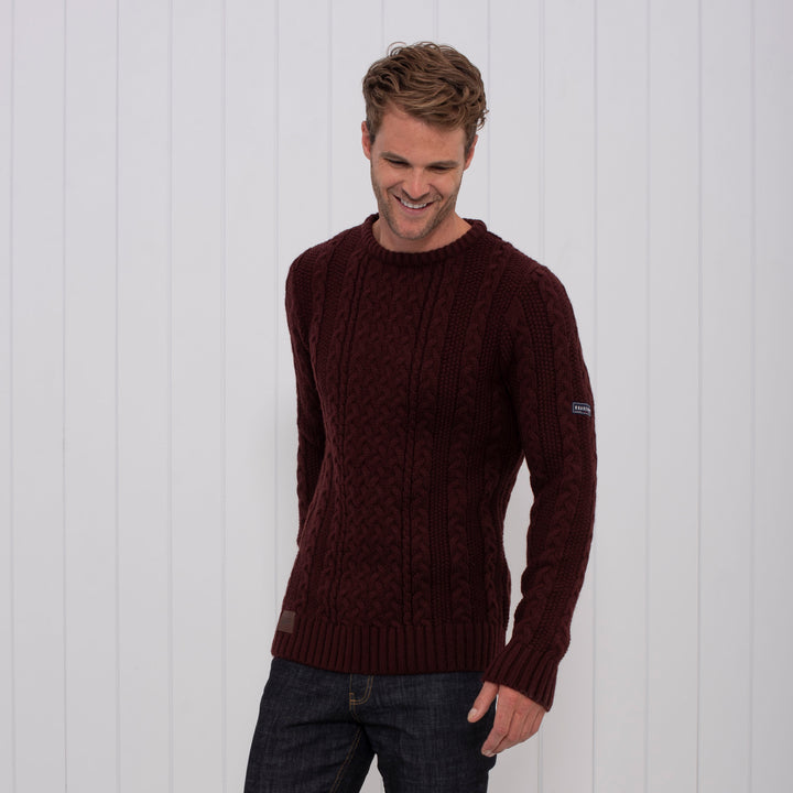 Knitted Cable Jumper