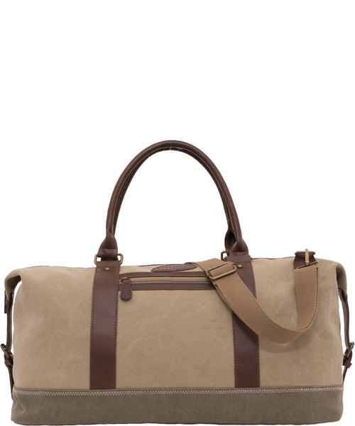 Overnight Bag Stone & Khaki