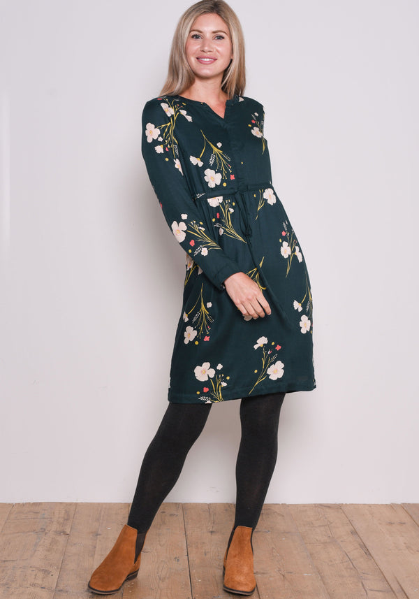 Posey Twill Shirt Dress