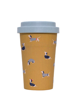 Sausage Dog Travel Cup