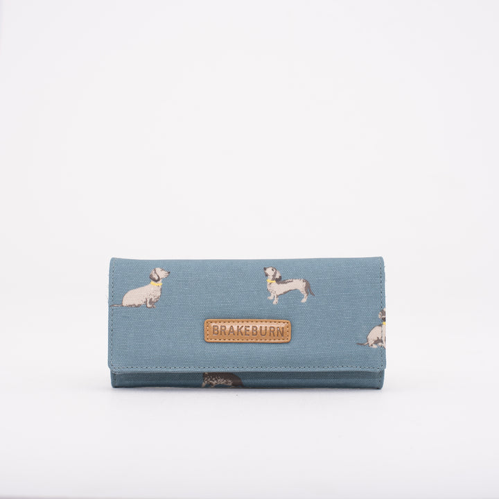Sausage Dog Fold Over Purse