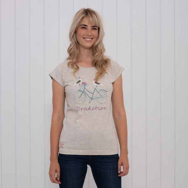 Seagull Embroidered Tee
