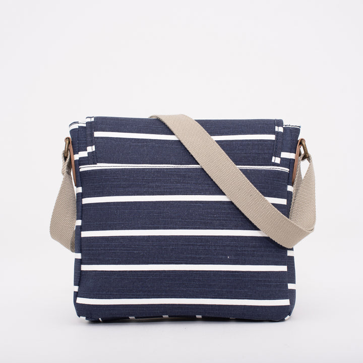 Stripe Cross Body Bag