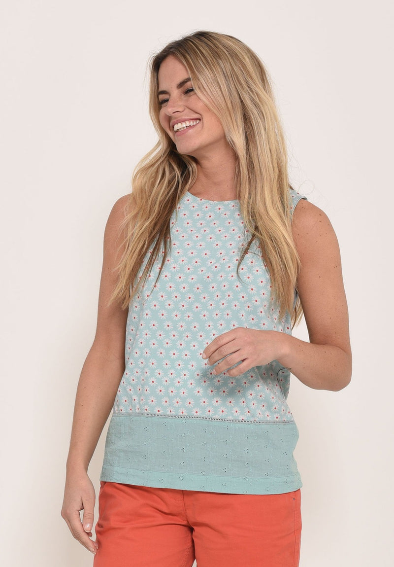 Daisy Sleeveless Blouse