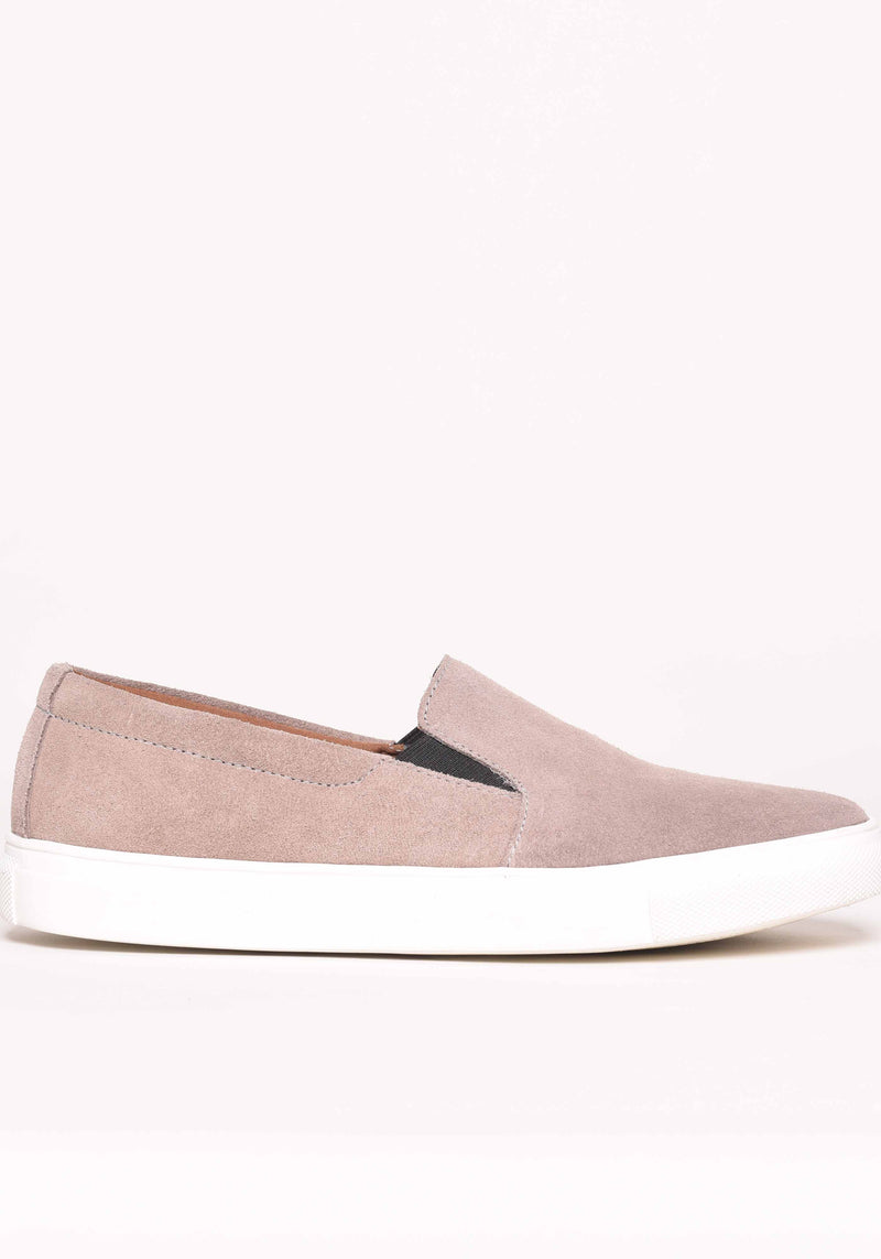Slip On Trainers in Grey