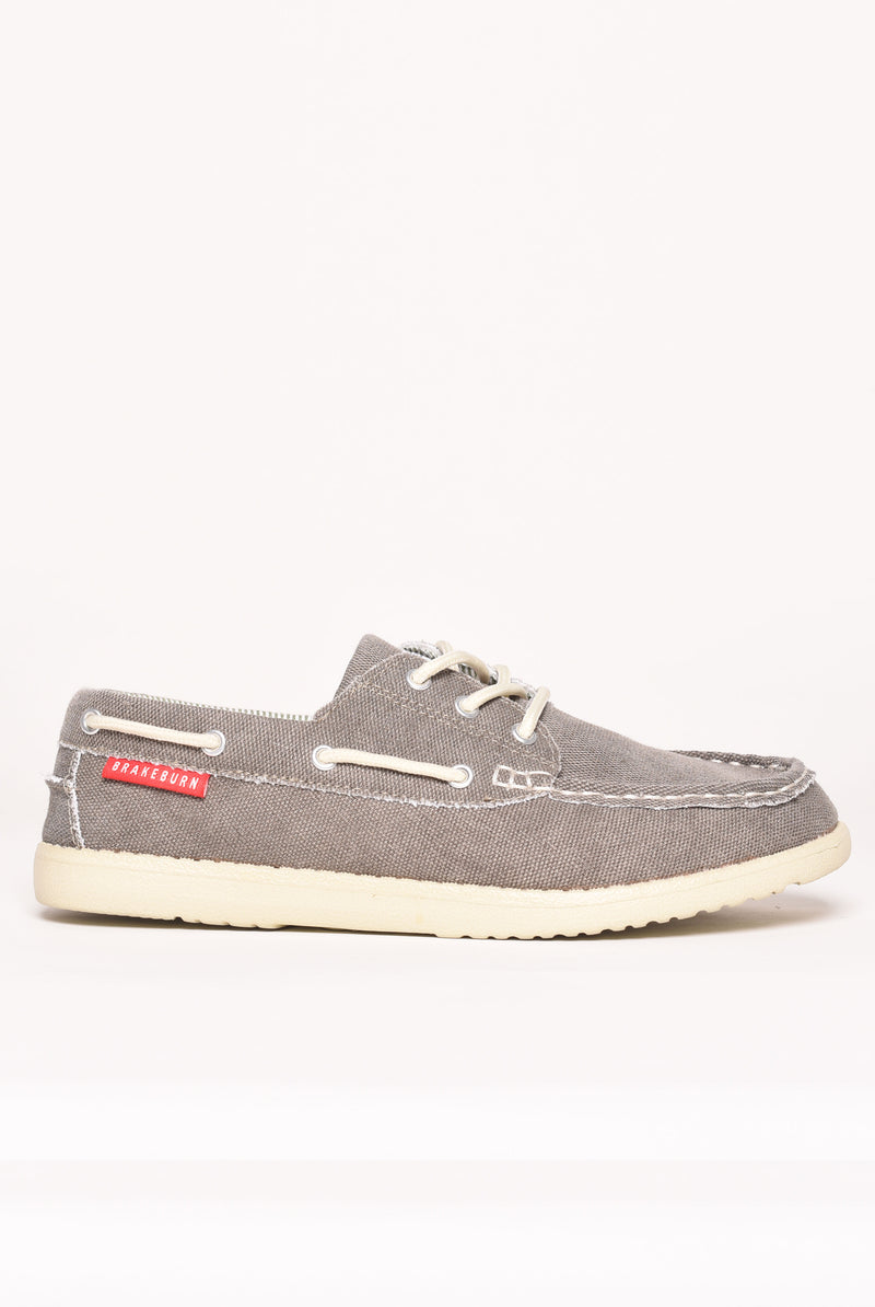 Boat Shoe In Grey