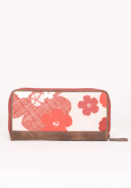 Wild Rose Zip Purse