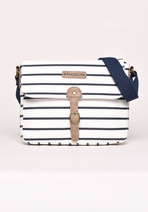 Stripe Saddle Bag