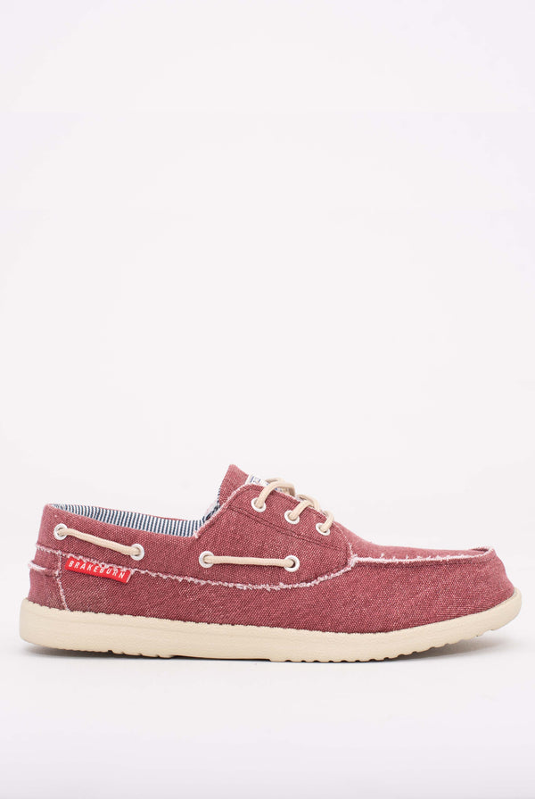 Boat Shoes Burgundy