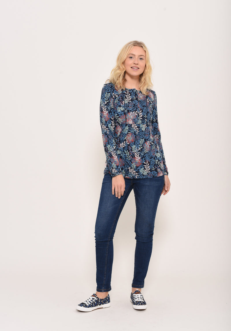 Falling Leaf blouse