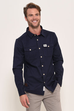 Brushed Flannel Shirt