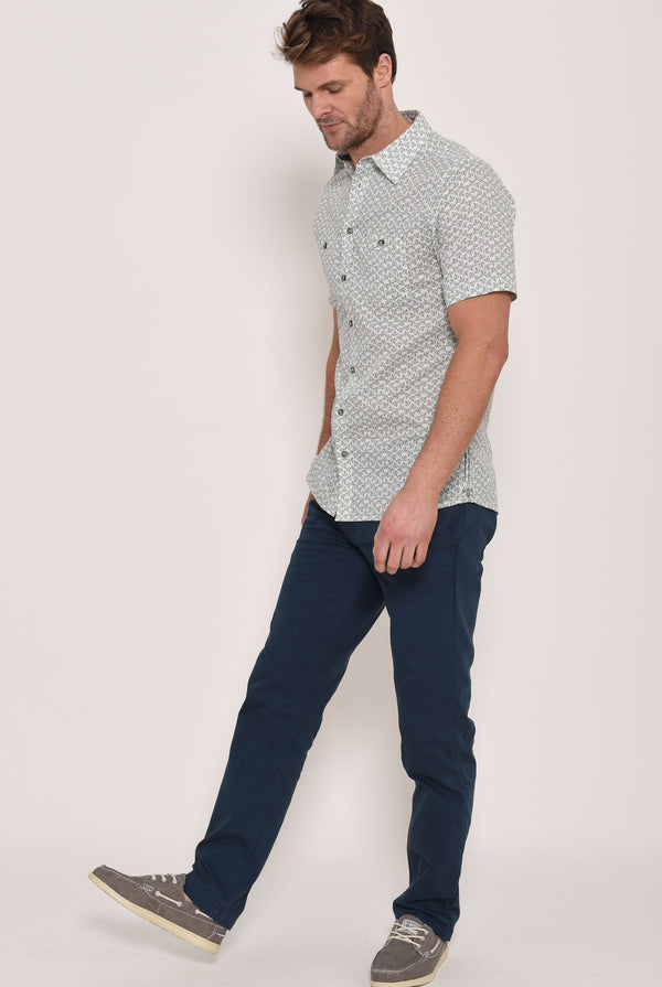 Geo Short Sleeve Shirt