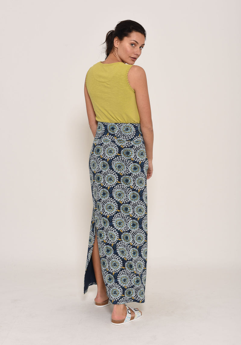 Apple Maxi Skirt