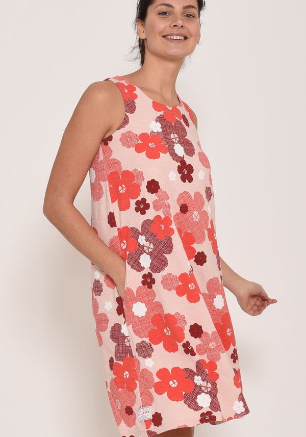 Wild Rose Beach Dress