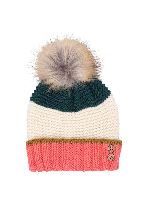 Colour Block Hat