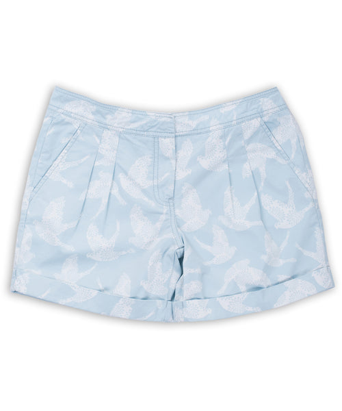 Birds Short Blue
