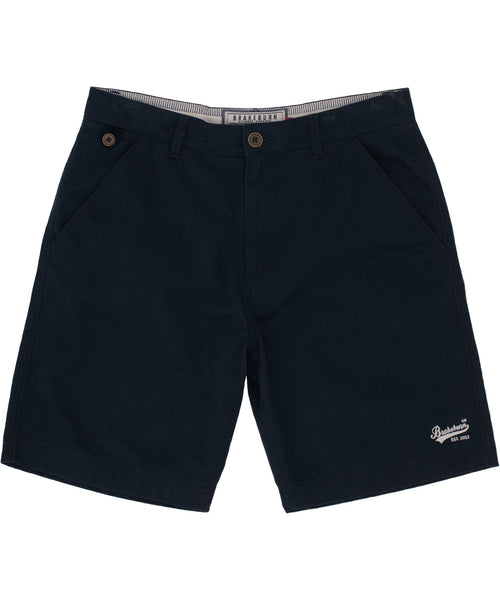 Washed Chino Short Navy
