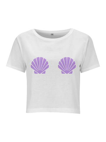 SHELL crop top