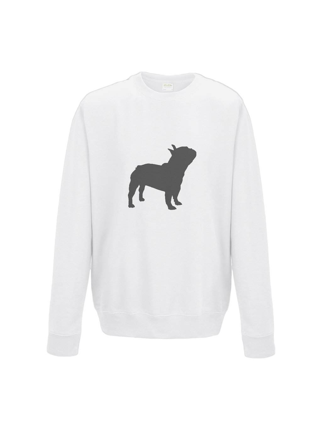 FRENCHIE sweatshirt in white