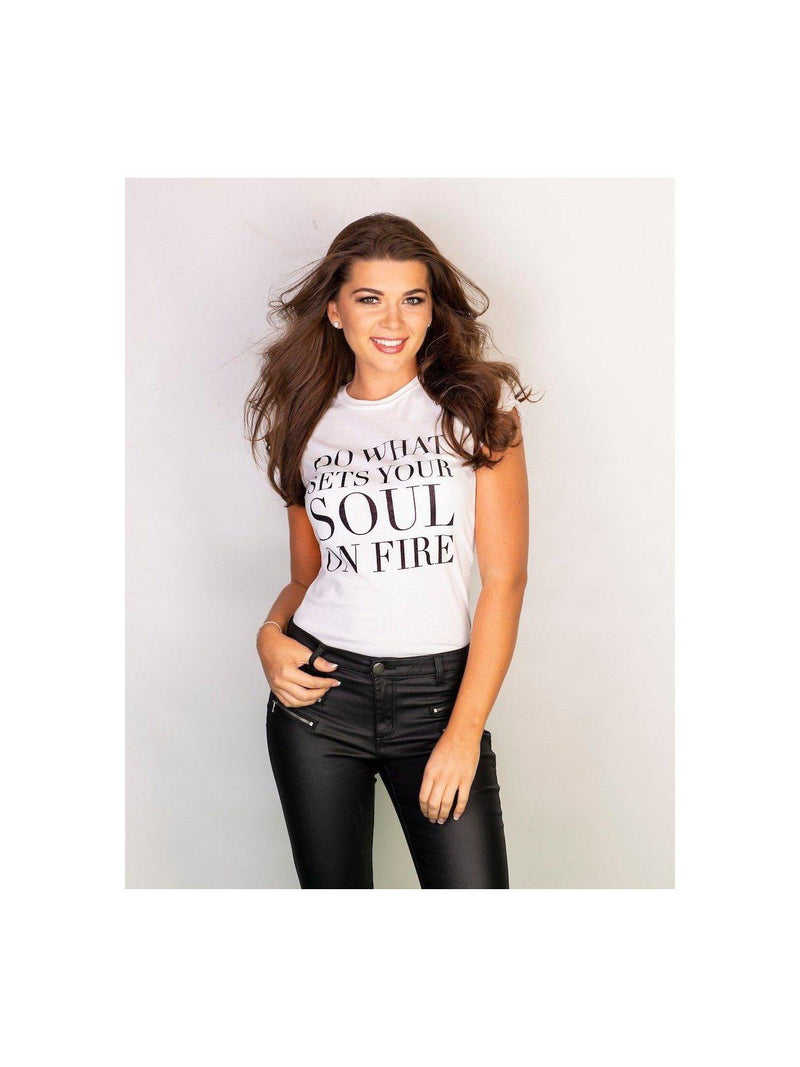 SOUL ON FIRE t shirt