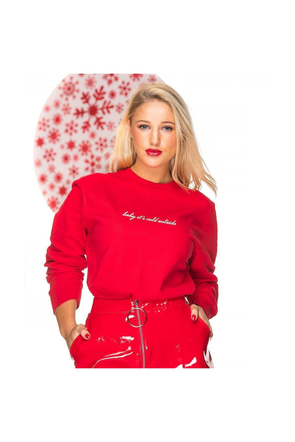'Baby it's cold outside' Christmas Sweatshirt