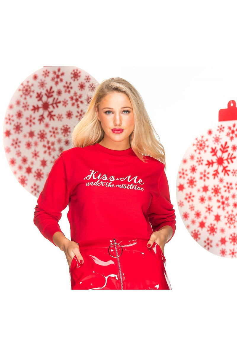 KISS ME Christmas Jumper